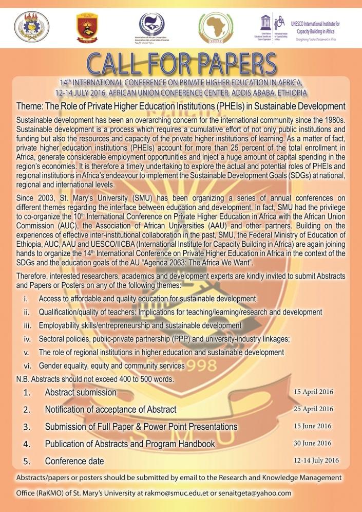 Full Call_Private Higher Educ
